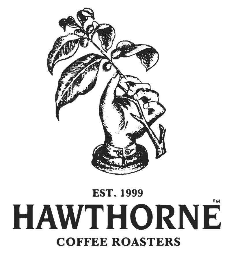 Hawthorne Logo Hand and Plant