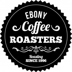 EBONY BW Roasters Logo Splash